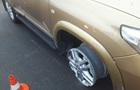 В Одессе водитель уходил от погони без шин