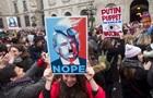 По всему миру проходят марши женщин против Трампа