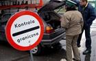 На границе с Польшей застряли около 1000 автомобилей