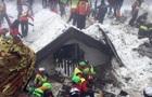 Обвал лавины в Италии: число жертв выросло до 12