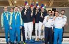 Украинские шпажисты выиграли серебро на этапе Кубка мира