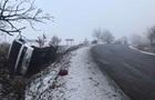 На Закарпатті перекинувся автобус, четверо постраждалих