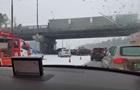 Под Москвой столкнулись почти 30 машин
