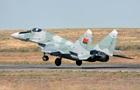 В Беларуси загорелся истребитель МиГ-29