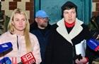 Савченко встретилась с шестью военнопленными