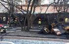 В центре Львова сгорел ресторан