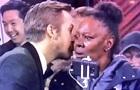 Поцелуй туристки на Оскаре стал мемом