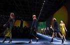 Шаровары и прозрачные юбки от Armani и Versace