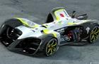 В Барселоне показали сверхлегкое беспилотное гоночное авто