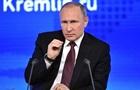 Путин против новых санкций в отношении Сирии