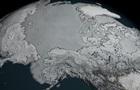 NASA показало рекордное таяние ледников Арктики