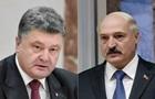 Порошенко обсудил с Лукашенко ситуацию на Донбассе