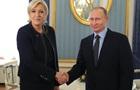 Путин принял Ле Пен в Кремле
