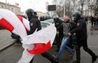 У Мінську затримано сотні учасників Маршу волі