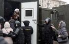 Беспилотник снял массовые задержания в Минске