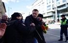 В Москве на митинге задержали Навального