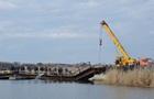 Под Николаевом обвалился мост