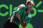 Теннис: победа Федерера в обзоре матчей игрового дня в Майами