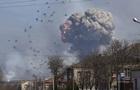 Минобороны: На складах в Балаклее целы 30% боеприпасов