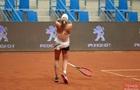 Первая  взрослая  победа 16-летней надежды украинского тенниса