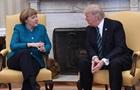Меркель і Трамп обговорили Україну