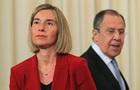 Могерини в Москве: Давайте не будем притворяться