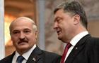 Порошенко завтра встретится с Лукашенко