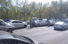 Массовое ДТП в Киеве: есть раненые
