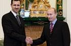 Кремль: Путин не менял отношения к Асаду
