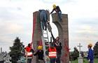 В Польше националисты разобрали памятник УПА