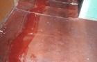 В Киеве убийца тащил труп на матрасе по улице