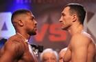 Кличко - Джошуа: сколько получат боксеры за бой