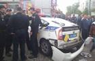 В Одесі авто поліції врізалося в магазин