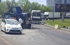 У Києві ДТП з фурою викликало кілометрову пробку