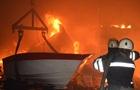 В Николаеве горело предприятие по производству яхт