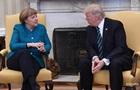 Меркель обговорила з Трампом Україну
