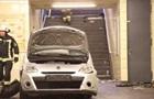 В Берлине автомобиль заехал на станцию метро