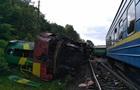 Аварія потягів на Хмельниччині: названо дві версії