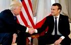 Макрон о рукопожатии с Трампом: Это момент истины