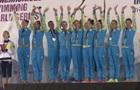 Украинские синхронистки выиграли три золота и два серебра в Испании
