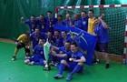 Продэксим впервые завоевал золотые медали чемпионата Украины по футзалу