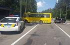 Под Киевом Audi врезалось в маршрутку: до 10 пострадавших