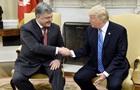 27 хлопков: как Порошенко с Трампом общался