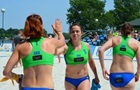 Жіноча та чоловіча збірні України вийшли з групи на ЧЄ з пляжного гандболу