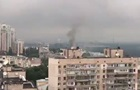 Возле Киево-Печерской лавры произошел пожар