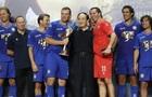 Андрей Шевченко забил победный гол в матче за Сборную звезд Европы