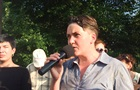 Нардепа Савченко закидали яйцями в Миколаєві