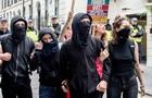 Протесты в Лондоне: шесть полицейских ранены