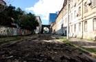 В Одессе ливень смыл асфальт с улицы
