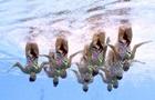 Українські синхроністки виграли шосту бронзу чемпіонату світу
